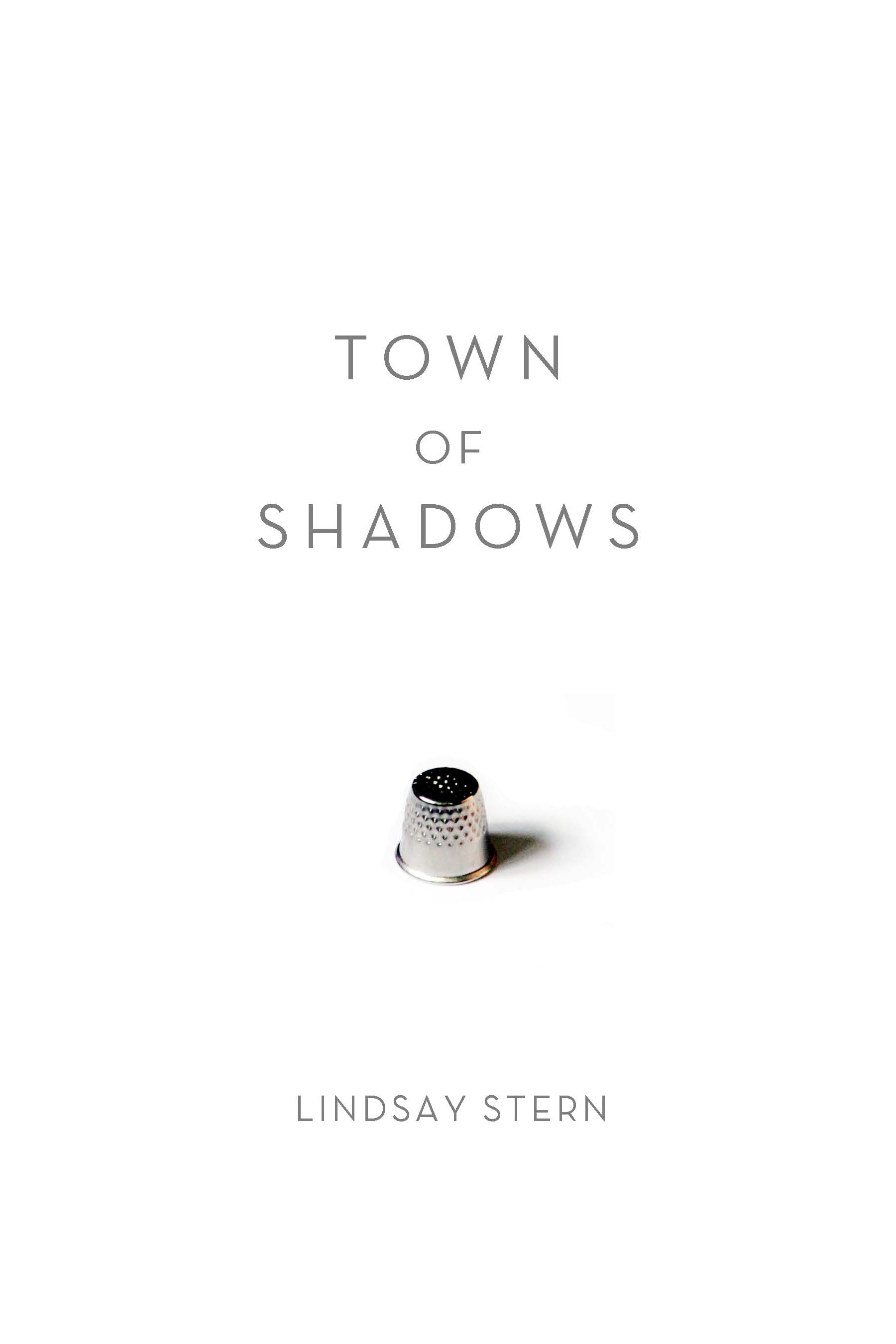 front cover for Town of Shadows